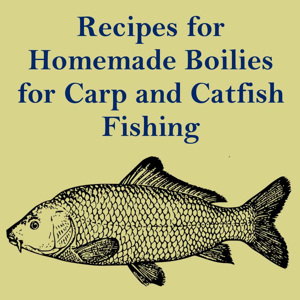 IG Recipes for Homemade Boilies for Carp and Catfish Fishing